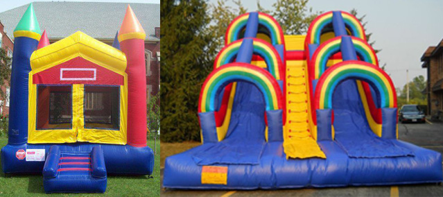 SPECIAL #11 — $200 for combination of Castle Bouncer and Double-Lane Slide