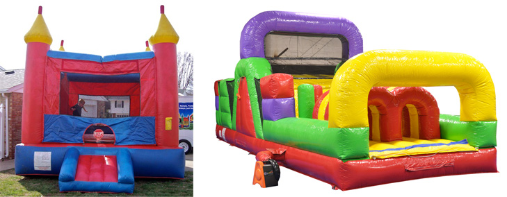 SPECIAL #10 — $200 for Castle Bouncer and 30-foot Obstacle Course