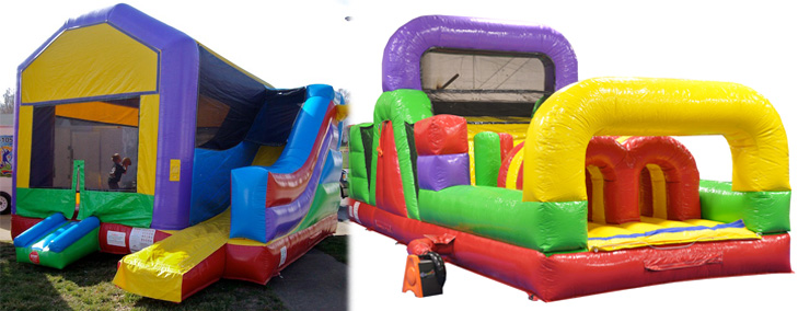 SPECIAL #12 — $250 for Combo 1 and 30-foot Obstacle Course