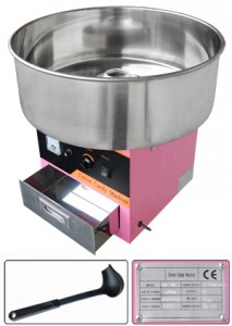 Cotton Candy Machine - $50 / day ~ Supplies: $20 for 50 servings