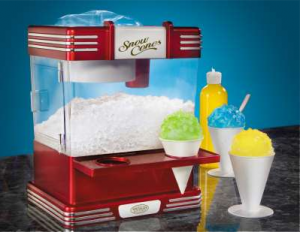 Sno-Cone Machine - $50 / day ~ Supplies: $20 for 50 servings